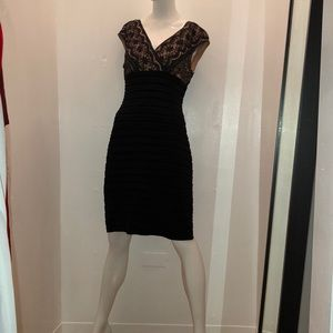 Women's Adrianna Papell Black Dress
